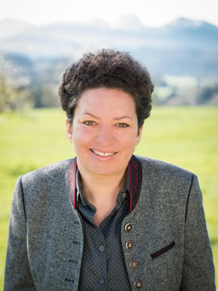 Landratskandidatin Alexandra Burgmaier